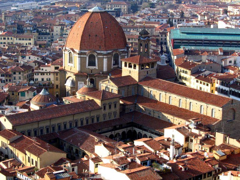 La bellissima Firenze, dall'alto