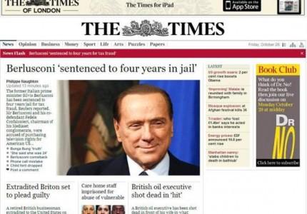 Berlusconi condannato in Cassazione